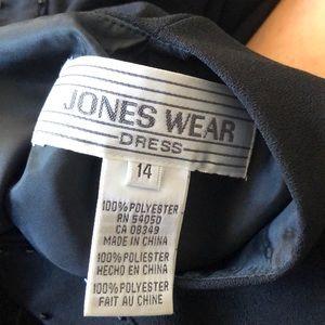 Jones Wear Dresses - Jones wear plus beaded midi dress